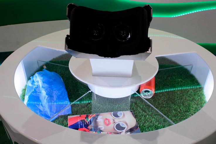 Разработка оборудования для музеев и выставок. Интерактивная инсталляция с виртуальной реальностью